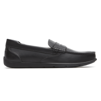 Bennett Lane IIII Penny Loafer Comfortable Men's Shoes in Black